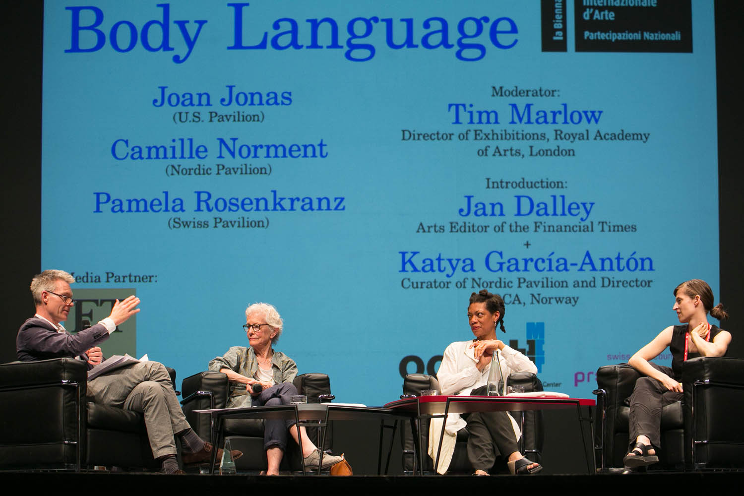 Body Language - The First Cross-Pavilion Artist Talk at La Biennale di Venezia